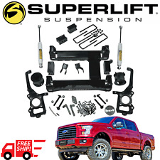 SUPERLIFT Suspension 4.5 Inch Lift Kit Fits 2015-2019 F150 4WD W/ Shocks