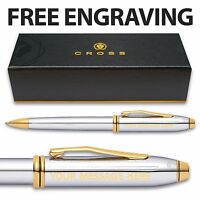 Cross Townsend Medalist Ballpoint Pen- Gift Box- Personalised- ENGRAVED