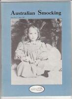 Australian Smocking - Issue No 02 - September 1987 - Extremely Rare