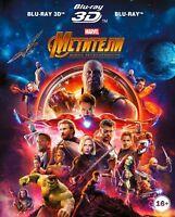 *NEW* Avengers: Infinity War (Blu-ray 3D+2D) Eng,Russian,Czech,Hindi,Polish