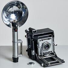 Graflex SPEED GRAPHIC 4x5 photo camera - telemetro - Range Finder - funzionante
