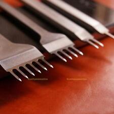 4mm Prongs Leder Werkzeug Leather Craft Stitching Lacing Chisel Punch Tool