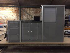 Vw T5/T6 light weight ply furniture units Vivaro Transit  campervan Dust Grey