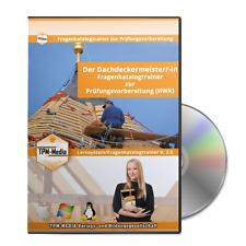 Der Dachdeckermeister/-in Prüfungstrainer (Windows) mit über 1600 Lernfragen