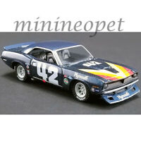 ACME GREENLIGHT 51264 1970 PLYMOUTH BARRACUDA T/A 1/64 DIECAST #42 SWEDE SAVAGE