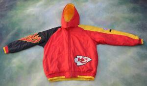 Logo Athletic Pro Line NFL Kansas City Chiefs Jacket Size Youth XL (18-20).