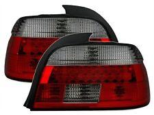 FEUX ARRIERES LED BMW SERIE 5 E39 BERLINE 2000-2003 520 525 530 NOIR ROUGE M