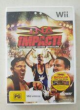 TNA IMPACT! TOTAL NONSTOP ACTION WRESTLING - NINTENDO Wii GAME