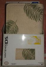 Organizer per Nintendo DS e DSLite in Pelle e Cotone - Nuovo e Originale
