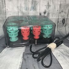 Clairol Lock 'N Roll Model BT-1 Curlers Rollers Pageant Dance Performance Show