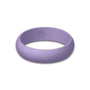 AERA Women's Silicone Wedding Ring Band Best Quality Rubber Active Ring Size 8