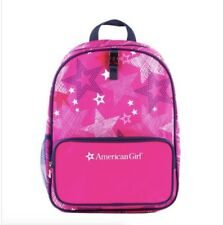 "American Girl 16"" Backpack AG Pink Star for Girls School Kids NEW"