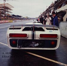 Ford GT40 J Experimental Car paddock 1000 km Nurburgring 1966 3 photograph photo