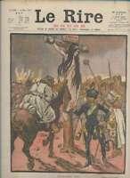 Journal Le RIRE Rouge, édition de guerre N° 176 du 30 mars 1918