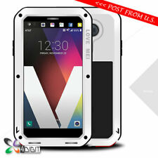 Genuine LOVE MEI Shockproof Metal Bumper Gorilla Glass Case Cover for LG V20