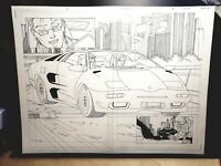 Darkminds #3 DOUBLE SPLASH Page 11 & 12  Original Art by Pat Lee Dreamwave! DW