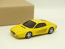 MiniCar Plus Résine 1/43 - Ferrari 512 TR 1993 Jaune
