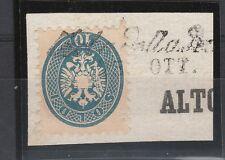 FRANCOBOLLI 1864 LOMBARDO VENETO 10 SOLDI C/9935