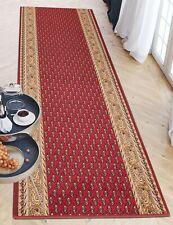 Meterware Küche Flur 67-120 Wunschlänge Läufer Rot Antirutsch Rutschfest