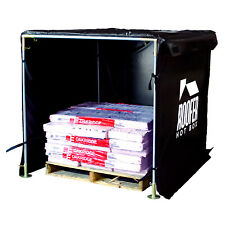 Roofers Hot Box Heats Shingles in Cold Weather, Heat Equipment, Adhesive & Tools