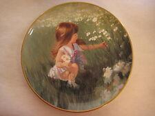 SPODE ENGLAND FINE BOND CHINA 1991 ZOLAN DAISY DAYS FLOWERS COLLECTOR'S PLATE