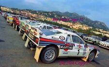 Henri Toivonen Martini Lancia 037 Costa Smeralda Rally 1985 Photograph