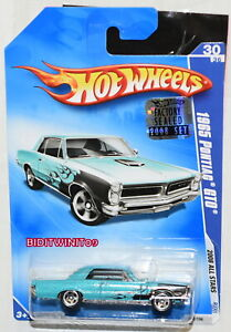 HOT WHEELS 2008 ALL STARS 1965 PONTIAC GTO #30/36 BLUE FACTORY SEALED