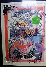 PARKER Ito-Cheeto retours-Signé En Édition Limitée Art Imprimé
