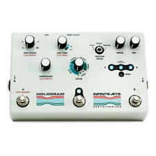 Hologram Electronics Infinite Jets Blur Aynth Glitch Swell Guitar Effects Pedal