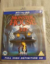 Monster House (Blu-ray Disc, 2010, 3D)