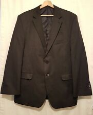 BURTON Clothing Mens Size 44R Dark Grey Jacket Only Long Sleeve Double Button Up