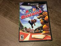 Mario Superstar Baseball Nintendo Gamecube Wii w/Case Authentic