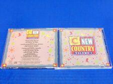 New Country Volume 1 CD (Rare) Marty Stuart Suzy Boggus Diamond Rio Doug Stone