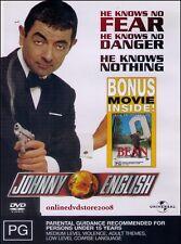 JOHNNY ENGLISH Rowan ATKINSON BONUS BEAN Ultimate Disaster Movie (2 DVD SET) NEW