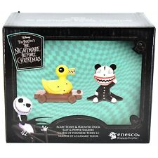 Enesco Nightmare Before Christmas Scary Teddy & Haunted Duck Salt Pepper Shakers