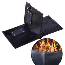Leather Magic Trick Flame Fire Street Wallet Magician Stage Inconceivable Prop Q