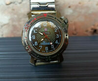 Rare USSR Watch WOSTOK VOSTOK mini amphibian Soviet Vintage Collectible Serviced