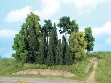 Heki 1957 Mischwald H0, 20 Bäume + Tannen 7-18 cm