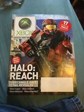 HALO REACH Official Xbox Magazine 114 October 2010 Cover 360 One PS4 LIKE NEW