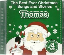 THOMAS - THE BEST EVER CHRISTMAS SONGS & STORIES PERSONALISED CD