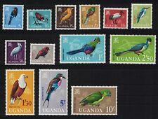 Uganda Birds 13v MNH SG#113-125