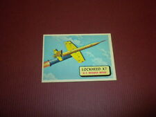 PLANES trading card #74 TOPPS 1957 Army Navy Marines Air Force PRINTED IN U.S.A