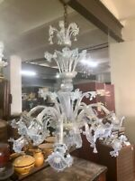 PALACE SIZED MURANO GLASS CHANDELIER. CRYSTAL. ITALY. EARLY XX CENTURY.