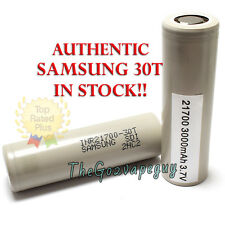 100% GENUINE SAMSUNG INR 21700 30T 3000mah 35 AMP BATTERY IN STOCK! SHIPS FAST!