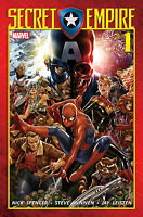 SECRET EMPIRE #1 (OF 9) Mark Brooks Cover Captain America Marvel Comics