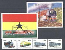 Eisenbahn, Railways - Ghana - LOT ** MNH