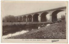 HANWELL The Viaduct and River Brent, RP Postcard by Wakefields Posted 1915