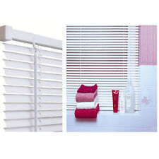 Venetian Blind White PVC 213cm drop Available in 10 widths