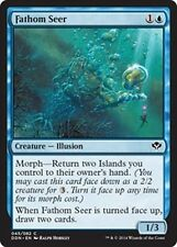 Fathom Seer  x4  NM Duel Decks: Speed Vs. Cunning MTG Blue Common