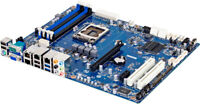 GIGABYTE Server / Workstation Motherboard, ATX E3-1200 4xDIMM INTEL, GA-6LXSL